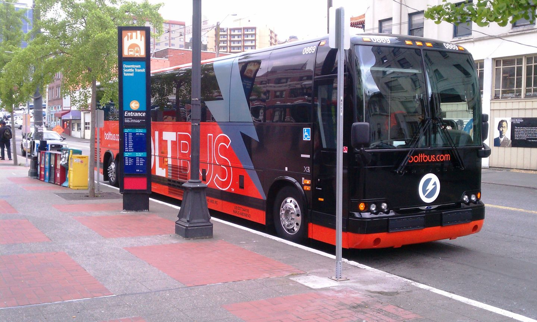 a Shuttle Bus