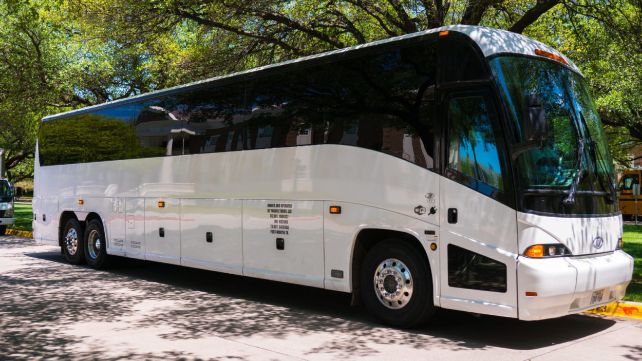 a Charter Bus